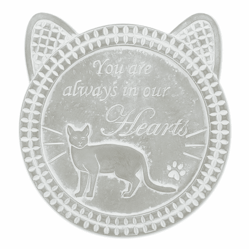 You Are Always In Our Hearts Cat Memorial Stone