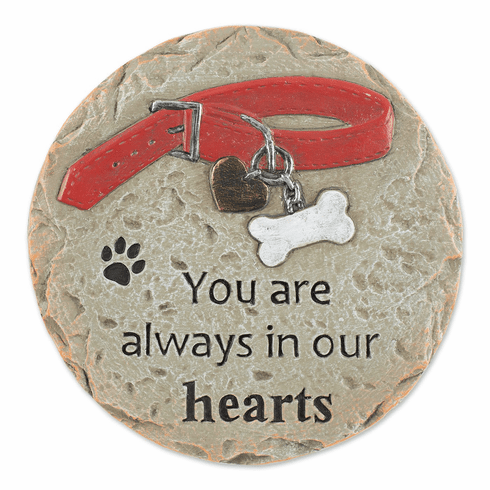 You Are Always In Our Hearts Pet Memorial Stone