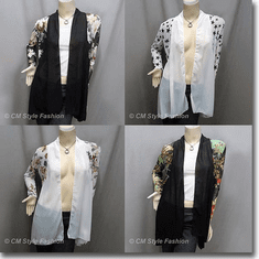 Chiffon Flowy Cardigan Top Series