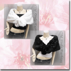 Faux Fur Cape Shawl Wrap Series