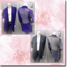 Shawl Collar Drapey Open Cardigan Series