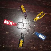 Small Acrylic Paddle Keychain *NEW*