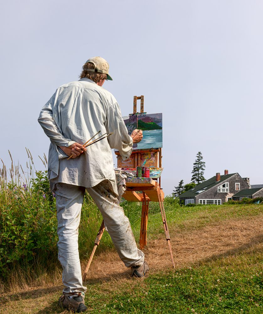 Monhegan Painter