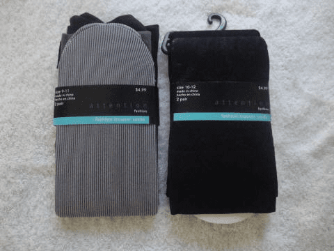 Attention Fashion Knee High Trouser Socks (2 Pair Pack)