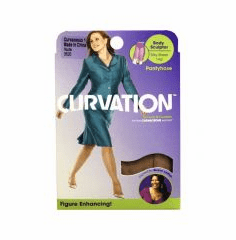 Curvation Women's Longline Silk Body Sculptor Pantyhose(Only 6-pairs left in stock)