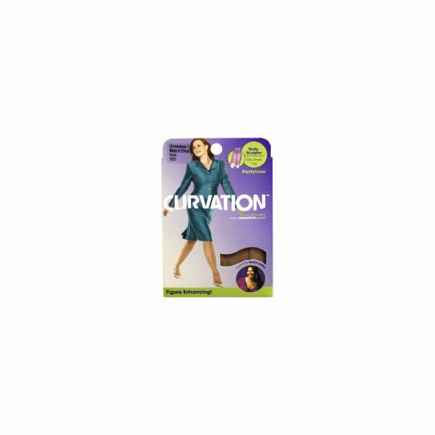 Curvation Women's Longline Silk Body Sculptor Pantyhose(Only 36-pairs left in stock)