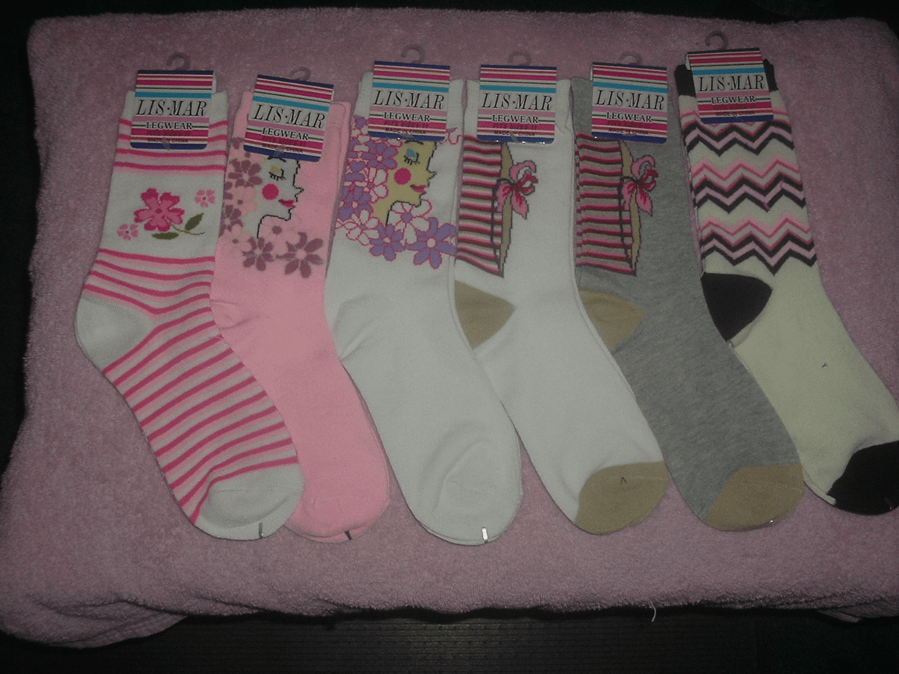 Excell Ladies Computer Socks