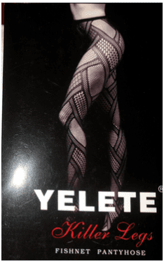 New! Yelete Designer Fishnet Pantyhose