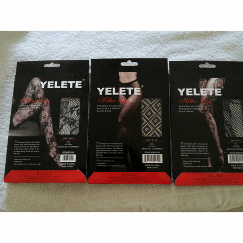New! Yelete Fishnet Pantyhose
