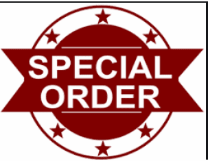 Special Ordering