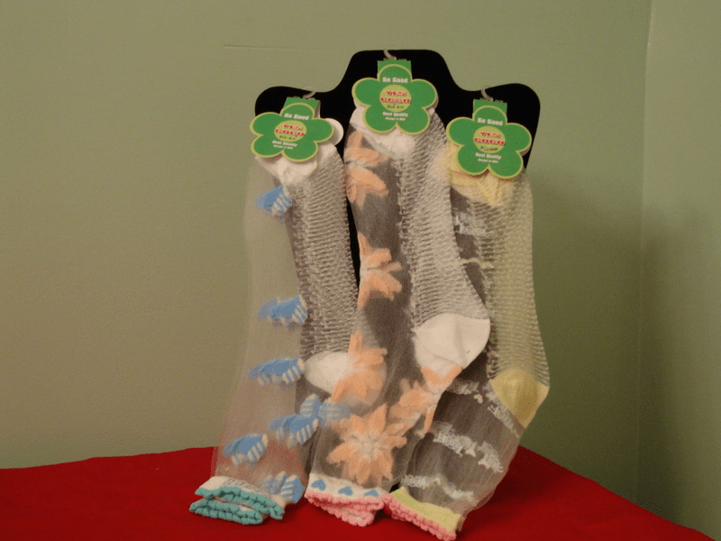Yes Coco Mesh Socks Assorted Colors (Limited Supply)