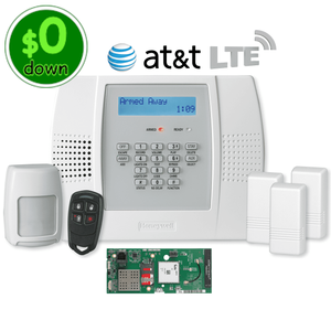 $0-Down Honeywell Home LYNX Plus L3000 Cellular AT&T LTE Wireless Alarm System