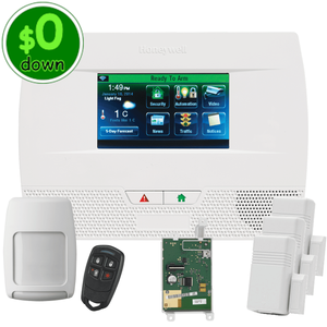 $0-Down Honeywell Home LYNX Touch L5210 Cellular 3/4G GSM Wireless Alarm System