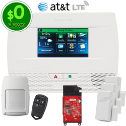 $0-Down Honeywell Home LYNX Touch L5210 Cellular AT&T LTE Wireless Alarm System