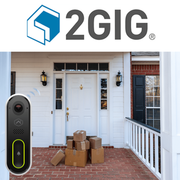 2GIG Standalone Video Doorbell Monitoring Services