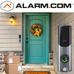 Alarm.com Video Doorbell Camera Monitoring Services