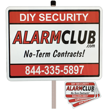 Home Security Sign & Security Decals Combo - AlarmClub®