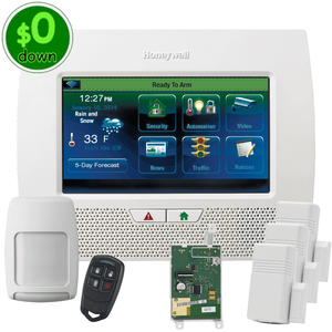 $0-Down Honeywell Home LYNX Touch L7000 Cellular 3/4G GSM Wireless Alarm System