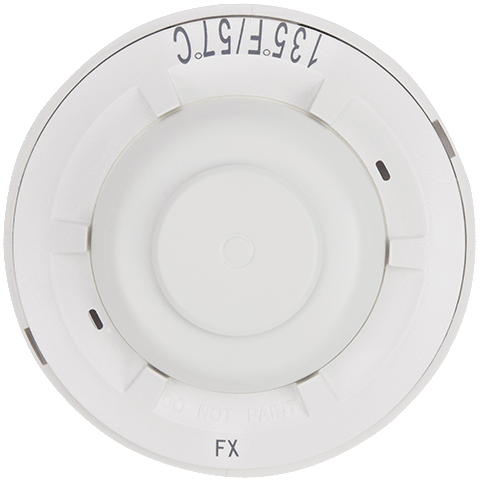 5621 - Honeywell System Sensor Hardwired Heat Detector (135°F Fixed Temp/Rate-of-Rise)