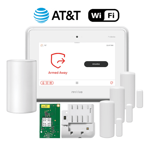 Honeywell Home ProSeries Dual-Path Wireless Security System Kit (for WiFi and AT&T LTE Network)