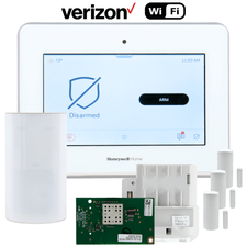 Honeywell Home ProSeries PROA7 Dual-Path Wireless Security System Kit (for WiFi and Cellular Verizon LTE Network)