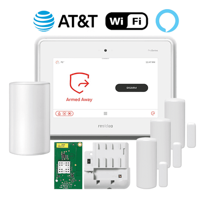 Honeywell Home ProSeries PROA7PLUS Dual-Path Wireless Security System Kit (for WiFi and Cellular AT&T LTE Network)