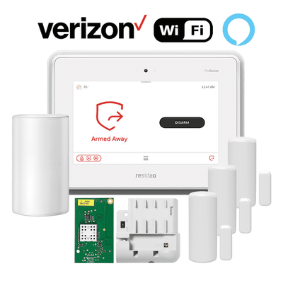 Honeywell Home ProSeries PROA7PLUS Dual-Path Wireless Security System Kit (for WiFi and Cellular Verizon LTE Network)