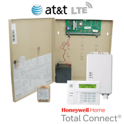 Honeywell Home VISTA 20P Hardwired Cellular Security System Kit (for AT&T LTE Network)