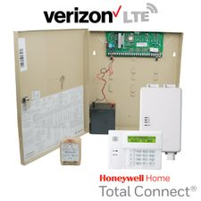 Honeywell Home VISTA 20P Hardwired Cellular Security System Kit (for Verizon LTE Network)