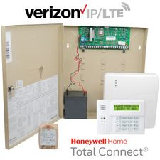 Honeywell Home VISTA 20P Hardwired Dual-Path Security System Kit (for IP and Verizon LTE Network)