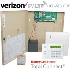 Honeywell Home VISTA 20P Hardwired High-Security Dual-Path Security System Kit (for Ethernet and Verizon LTE Network)