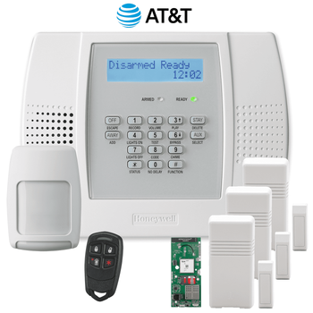 Honeywell Home LYNX Plus L3000 Cellular Wireless Security System Kit (for AT&T LTE Network)