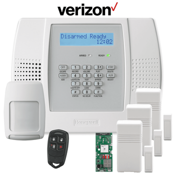 Honeywell Home LYNX Plus L3000 Cellular Wireless Security System Kit (for Verizon LTE Network)