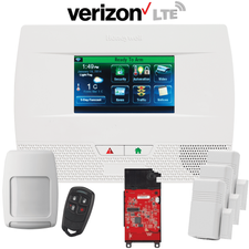 Honeywell Home LYNX Touch L5210 Cellular Verizon LTE Wireless Security System Kit