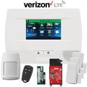 Honeywell Home LYNX Touch L5210 Dual-Path Wireless Security System Kit (for WiFi and Verizon LTE Network)