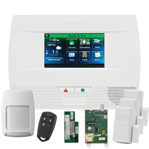 Honeywell Home LYNX Touch L5210 Dual-Path (WiFi & 3/4G GSM) Wireless Alarm System