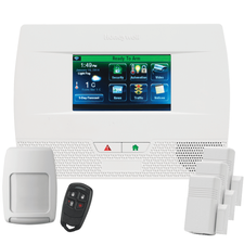 Honeywell Home LYNX Touch L5210 Phone/VoIP Wireless Security System Kit