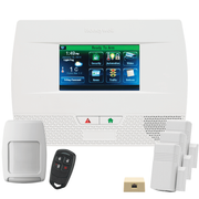 Honeywell Home LYNX Touch L5210 Phone/VoIP-Line Wireless Security System Kit