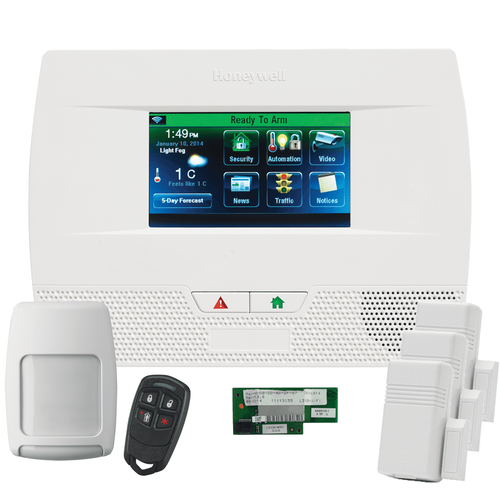 Honeywell Home LYNX Touch L5210 WiFi Wireless Alarm System