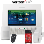 Honeywell Home LYNX Touch L7000 Cellular Verizon LTE Wireless Security System Kit