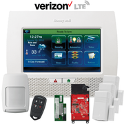 Honeywell Home LYNX Touch L7000 Dual-Path Wireless Security System Kit (for WiFi and Cellular Verizon LTE Network)