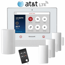 Honeywell Lyric Cellular LTE Wireless Security System Kit (via AT&T Network)