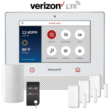 Honeywell Home Lyric Controller Cellular Wireless Security System Kit (for Verizon LTE Network)