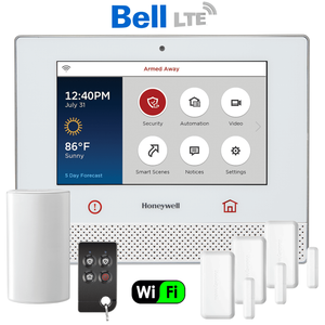 Honeywell Lyric Controller Dual-Path Canada Wireless Security System Kit (via Bell LTE Network)