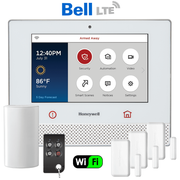 Honeywell Home Lyric Controller Dual-Path Canada Wireless Security System Kit (for WiFi and Bell LTE Network)
