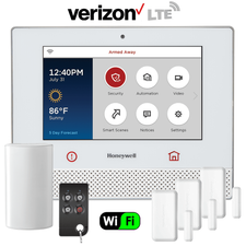 Honeywell Home Lyric Controller Dual-Path Wireless Security System Kit (for WiFi and Verizon LTE Network)