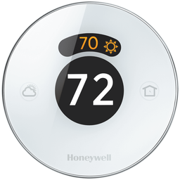QC-TH8732WFH - Resideo Honeywell Home Lyric Round Smart Thermostat