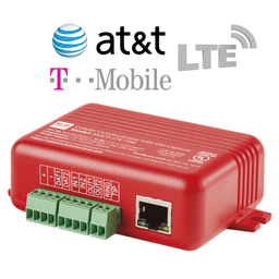 MQ03-LTE-FIRE - M2M Universal Dual-Path Ethernet/Cellular AT&T or T-Mobile LTE Alarm Communicator (Compatible with Most Commercial Fire Panels)