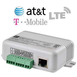MQ03-LTE-LAN - M2M Universal Dual-Path Ethernet/Cellular AT&T or T-Mobile LTE Alarm Communicator (Compatible with Most Burglary Intrusion Panels)