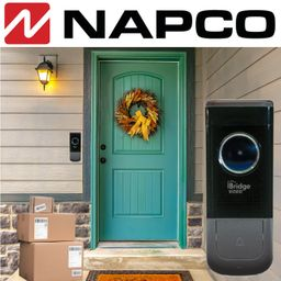 Napco iBridge Video Doorbell Camera Monitoring Services